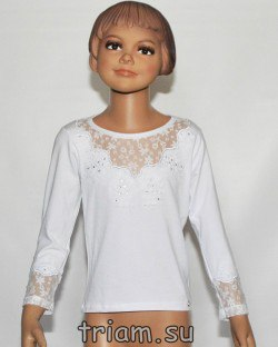 a7eb8fa02c0 Школьные блузки для девочек оптом в России