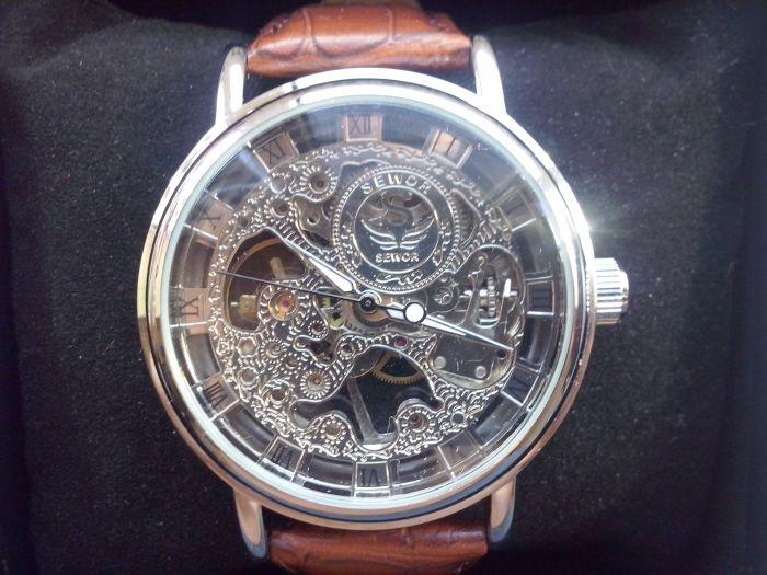 f6b9e3b7 Механические часы скелетоны