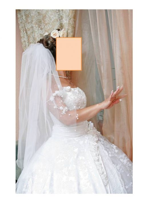 c3d50bc552b4b4c Продам эксклюзивное свадебное платье купить, цена: 7000.00 руб ...